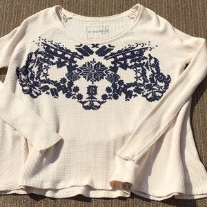 Ivory Baby Thermal We the Free S Urban Outfitters